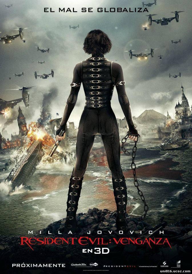 Resident Evil: Damnation (2012) Movie Watch Online Free